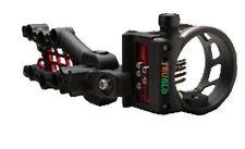 Tru Glo Carbon Hybrid 5 Pin .019 Sight w/Light Black