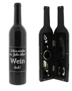 Weinset Geschenk Weinliebhaber Geburtstagsgeschenk Schon wieder ein Jahr älter..