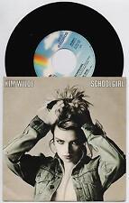 "KIM WILDE - SCHOOLGIRL / SONGS ABOUT LOVE 45 giri 7"" MCA  25 8550-7 1986"