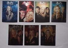 BUFFY THE VAMPIRE SLAYER COLLECTORS SET S2 Complete Montage 7 Card Set