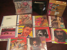 FRANK ZAPPA WORKS & BURNT WEENIE Replica JAPAN OBI CD BOX SETS + BONUS OBI CD'S