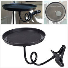 Universal Car 360° Swivel Mount Cup Holder Food/Drink Eating Tray  Travel Table
