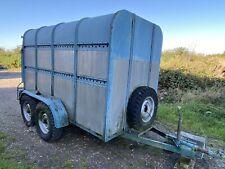 More details for used livestock trailer