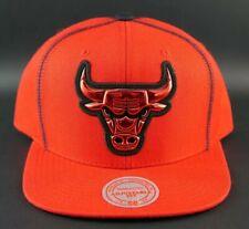 MITCHELL & NESS CHICAGO BULLS TRICOLOR SNAPBACK NBA HWC HAT CAP NEW BASKETBALL