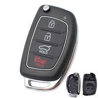 4 Buttons Car Remote Key Fob Shell Case For Hyundai Santa fe Sonata Tucson