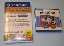 Broderbund, The Print Shop Deluxe Version 20, 4-CD Set for Windows 98/2000/Me/XP