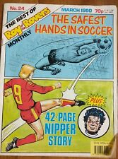 Roy Of The Rovers, March 1990. No24