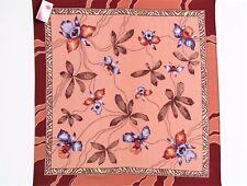 Foulard femme en soie 100% 89x89 authentique PAVLOVO POSSAD RUSSIE female scarf