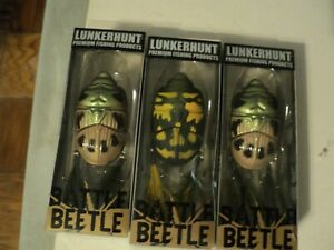 3 - LUNKERHUNT BATTLE BEETLE NIP (MIXED COLORS)