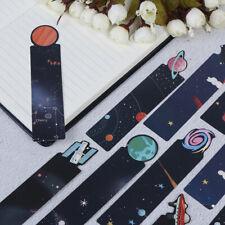 30 teile / satz planet lesezeichen mitteilungskarte kreative galaxy papier   Du