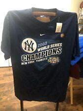 NY Yankees NIKE 2009 World Series Champions T Shirt MED