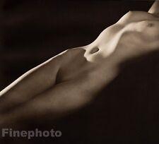 1940 Original JOHN EVERARD Art Deco Female Nude Woman Torso Body Photo Gravure