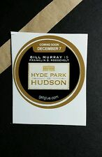 "HYDE PARK ON HUDSON BILL MURRAY PHOTO TV SM 1.5"" GETGLUE GET GLUE STICKER"