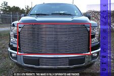 GTG 2015 - 2017 Ford F150 1PC Polished Upper Replacement Billet Grille Grill