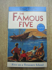 ENID BLYTON  FAMOUS FIVE  FIVE ON A TREASURE ISLAND  PAPERBACK NO 1 in series