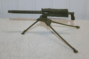 Vintage Marx - Stony Smith - .30 Cal. Machine Gun & Tripod (accessories)