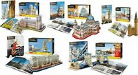 3D Puzzles Model Westminster Abbey Big Ben Tower Bridge Buckingham Palace
