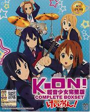 K-ON! SEASON 1 & 2 + THE MOVIE & 5 OVA JAPANESE ANIME DVD ENGLISH SUBTITLES