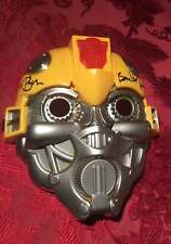 Bumblebee Voice Mask Signed Mark Ryan JSA certificate