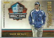 Tony Dungy 2016 Panini Hall of Fame Football Card- Rare!