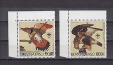TIMBRE STAMP 2 BURKINA FASO Y&T#288-89 PA OISEAU BIRD NEUF**/MNH-MINT ~A76