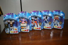 "DragonBall Z 10th Anniv.  Lot 5 w/ SS Gogeta 6"" action figures (Jakks 2005)"