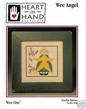 Wee Angel by Heart in Hand Cross Stitch Chart PRICE REDUCED