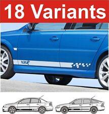 Opel Vectra Seiten Streifen Aufkleber Vauxhall VXR GSI Sri SXI 2 stk.