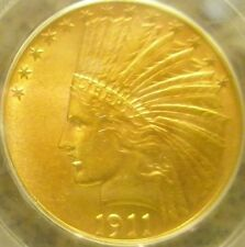 BU 1911 $10 INDIAN HEAD GOLD EAGLE  ~ High End Grade ~ See Pics