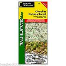 National Geographic Trails Illustrated TN Tellico and Ocoee Rivers Trail Map 781
