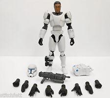 """Custom 1/18 Microman DLX Clone Republic Commando Delta Star wars 4"""" Figure"""