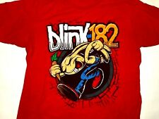 Blink 182 Red Bunny T-Shirt Size Medium