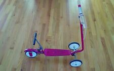 VINTAGE 1970's ORIGINAL HONDA KICK-N-GO RED WHEEL vtg  SCOOTER MADE IN JAPAN