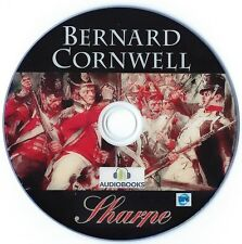 Sharpe Audio Books Bernard Cornwell 25 Stories MP 3 DVD 6 GB + 4 FREE EXTRAS!!