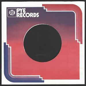 PYE (70's disco demand) REPRODUCTION RECORD COMPANY SLEEVES  (pack of 10)