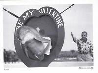"""Flippy"" -1952-  (Be My Valentine) *Marineland, Florida  {Postcard} (#246)"