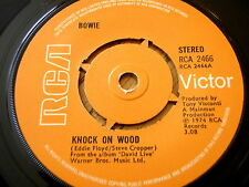 "BOWIE - KNOCK ON WOOD  7"" VINYL"