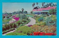Victor Hugo Inn at Laguna Beach, California - vintage postcard - 1952