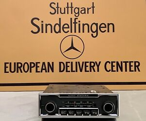 Becker Europa Radio Genuine Mercedes Benz 108 109 111 112 113 114 115 BC FM