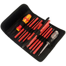 Wera Tools Electrician's Insulated Screwdrivers KK VDE 18 Pc Set 1000 Volts