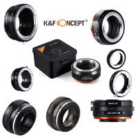 K&F Concept Lens Adapter for Fujifilm Fuji X-Series X FX Mount Mirrorless Camera