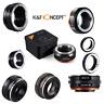 K&F Concept Lens Adapter for Fujifilm Fuji X-Series X FX Mount Mirrorless Camera