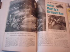 October 1953 Popular Science Article on 1954 Hudson, Testing 1954 Cars Ford X100