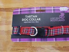 Thistle Products LTD Scotland Tartan Dog Collar