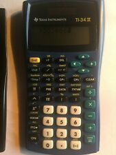 Texas Instruments Ti-34 Ii Tk Scientific Calculator with protective case