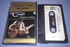THE CORRIES STRINGS & THINGS PAPER LABELS cassette tape album T2404
