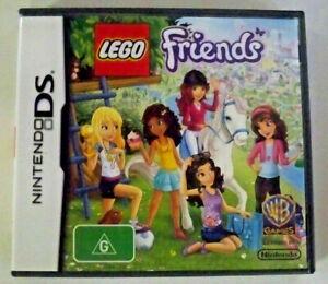 3 x Nintendo DS Games - Lego Friends + Disney Tangled + Barbie Riding Camp