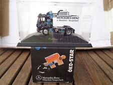 "Herpa MB "" Eco Star "" Solo Tractor H0, MB CAR DEALERSHIP Airbrush"