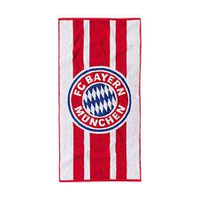FC Bayern München Handtuch 50x100cm Duschtuch Badetuch Strandtuch OVP Neu