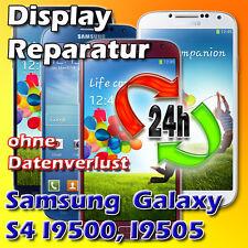 Samsung Galaxy S4 Frontglas Displayglas Glasschaden Reparatur Vollverkleb Weiß